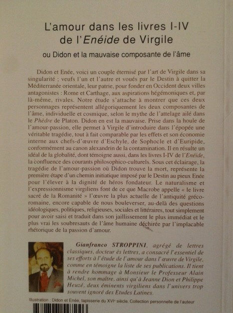 L'amour dans les Géorgiques de Virgile ou l'immanence du sacré dans l'être - Gianfranco Stroppini